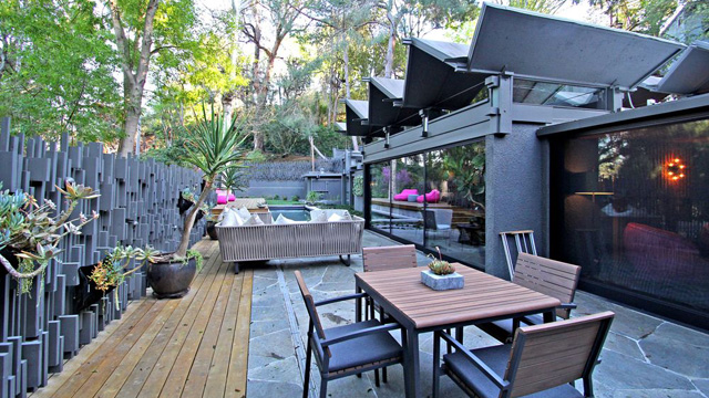 Rob zombie buys hollywood hills home for million for Koi pool fleetwood