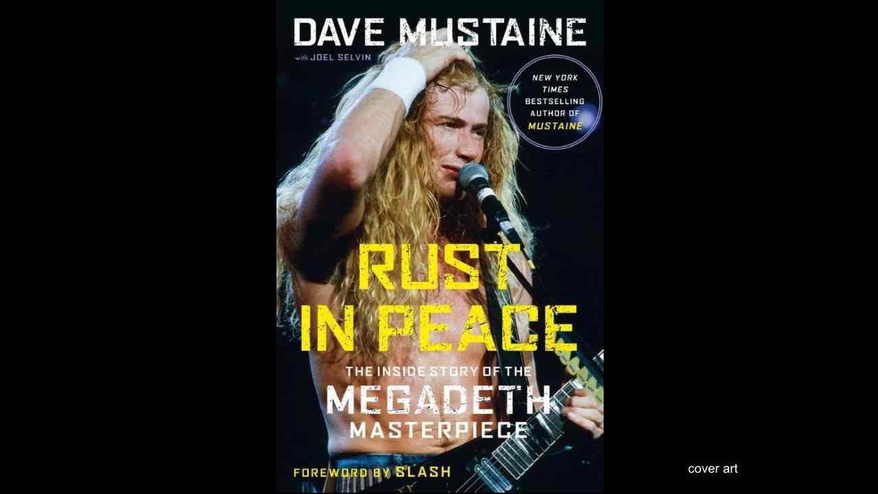Slash Pens Forward For New Book From Megadeth S Dave Mustaine Tangra Mega Rock