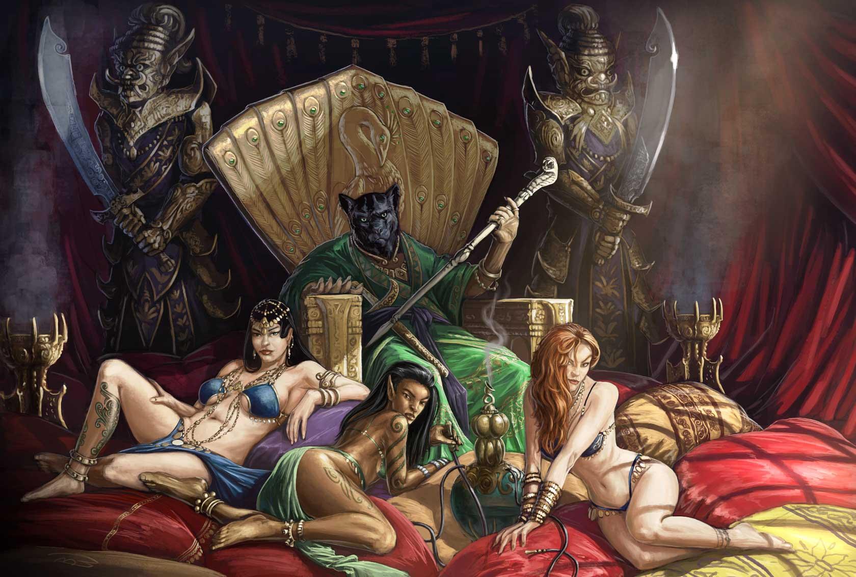 Смотреть секс с царицей, Джессика - императрица похоти (с русским переводом) 9 фотография