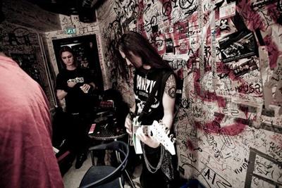 AMORAL backstage