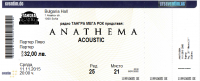 Tickets for the ANATHEMA acoustic show are on sale