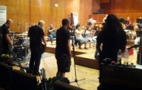 PARADISE LOST already rehearsing with the orchestra in Plovdiv