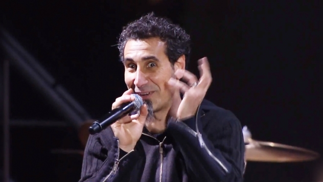 SYSTEM OF A DOWN stream ARMENIA PEACE SHOW