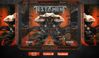 Играйте новата онлайн игра на TESTAMENT - 'Brotherhood Of The Snake'