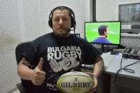 VASSIL VARBANOV to presend the French RUGBY tests in November on EUROSPORT