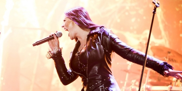 TANGRA INTERVIEW - FLOOR JANSEN of NIGHTWISH - Tangra Mega Rock