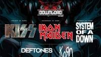 Фестивалът 'DOWNLOAD 2020' със SYSTEM OF A DOWN, IRON MAIDEN, KISS