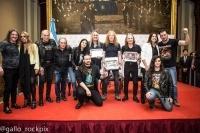 Конгресът на Аржентина връчи отличия на IRON MAIDEN - видео