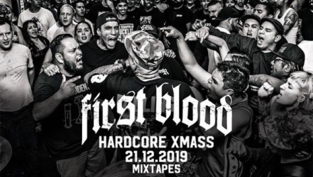 FIRST BLOOD от Калифорния - хедлайнери на HARDCORE X-MAS 2019