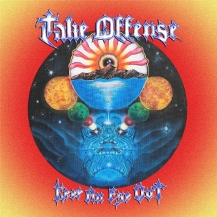 TAKE OFFENSE + RAISED FIST + SKINLAB