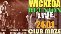 WICKEDA reform for a one off gig in Sofia tomorrow night at MAZE club