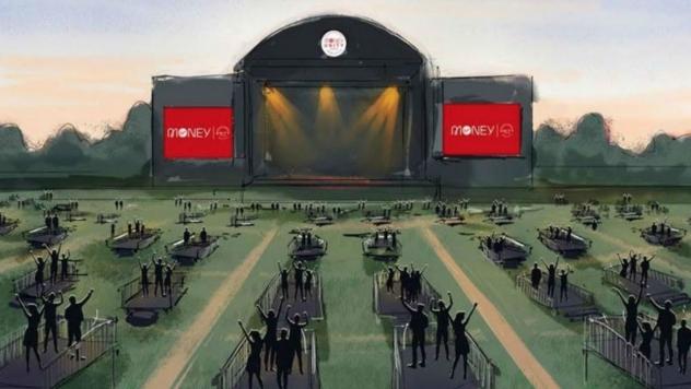 Хиподрум в Нюкасъл е първата арена за дистанцирани концерти на Острова
