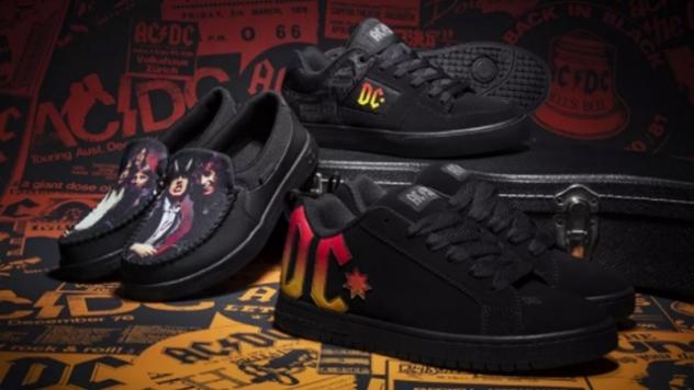 AC/DC пускат официална серия обувки и сувенири от 'DC Shoes'