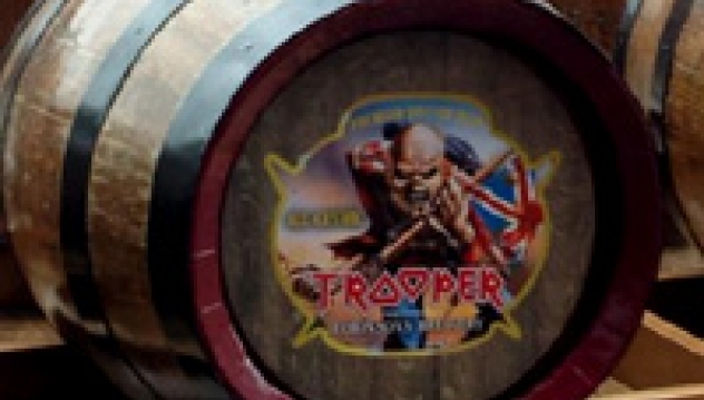 e41b8afb As preciously reported, IRON MAIDEN are launching their own 'TROOPER' ale.