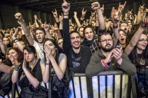 SABATON and ACCEPT live in Sofia