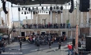 PARADISE LOST - репетиции в Античния театър, Пловдив