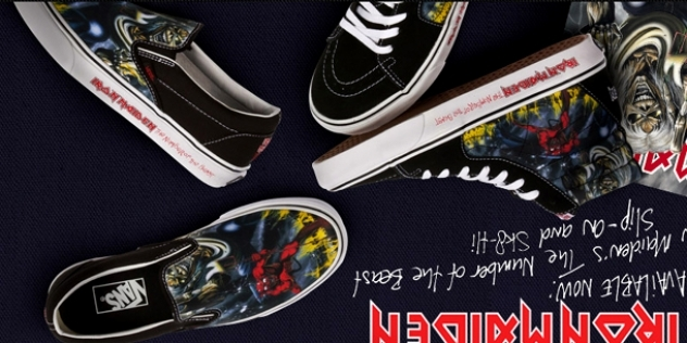 d69b9775b880 IRON MAIDEN Vans  Number Of The Beast  Shoes Available Now. 02 November  2012. news page
